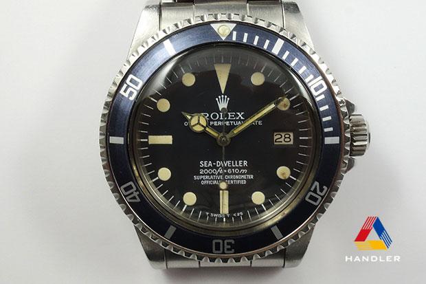HDR-137 SEA-DWELLER 1665 レイルダイアル