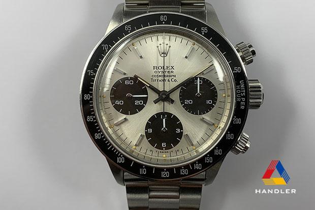 HDR-167 DAYTONA 6263 TIFFANY&Co.,ギャランティ付き