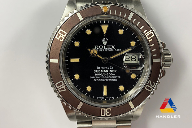 HDR-178 SUBMARINER 168000 TIFFANY Wネーム
