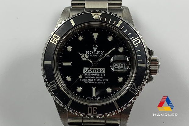 HDR-186 SUBMARINER 168000 COMEX