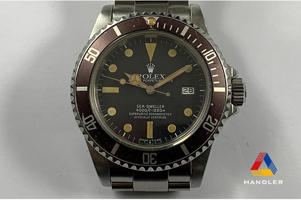 HDR-195 SEA-DWELLER 16660 フチなし ブラウンベゼル